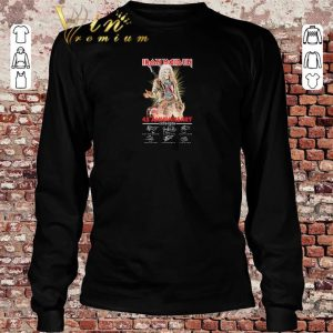 Funny Iron Maiden 45th anniversary 1975-2020 signatures shirt sweater 2019