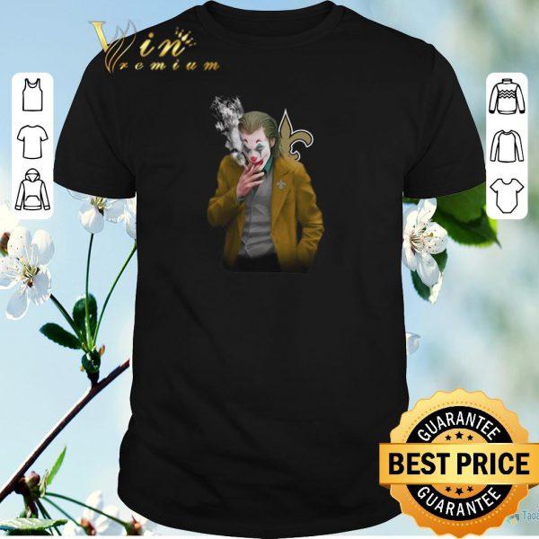 Funny Joker 2019 New Orleans Saints Logo shirt sweater