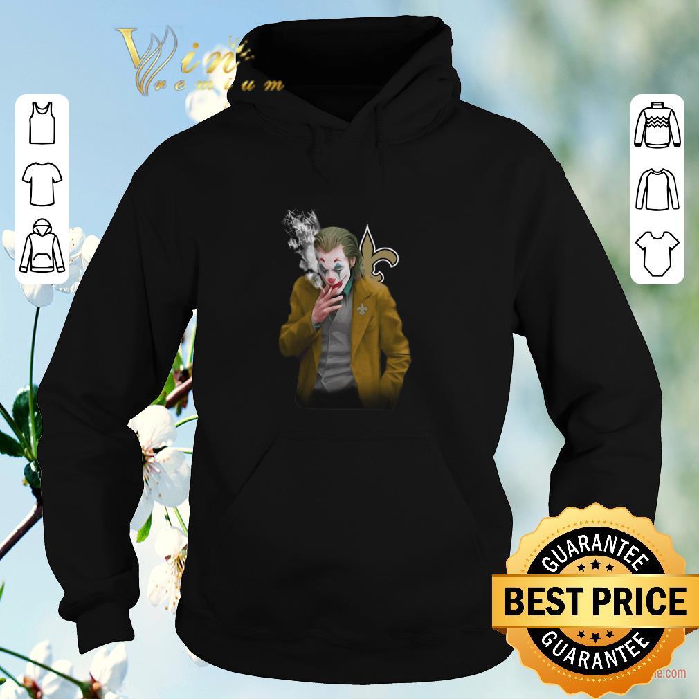 Funny Joker 2019 New Orleans Saints Logo shirt sweater 4 - Funny Joker 2019 New Orleans Saints Logo shirt sweater
