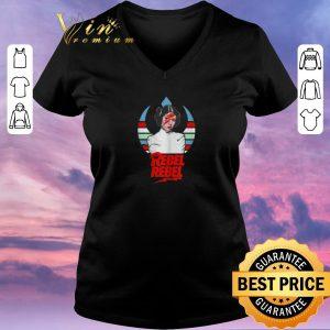 Funny Princess Leia David Bowie Rebel Rebel shirt sweater