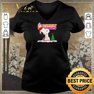 Funny Snoopy drink Dunkin' Donuts Christmas shirt sweater