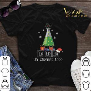 Ho Ho Ho Oh Chemist Tree Christmas shirt sweater