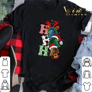 Ho Ho Ho Santa Horse Christmas shirt sweter