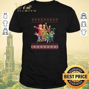 Hot Bob's Burgers family ugly Christmas shirt sweater
