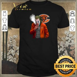 Hot Chicago Bears Joker 2019 smoking shirt sweater