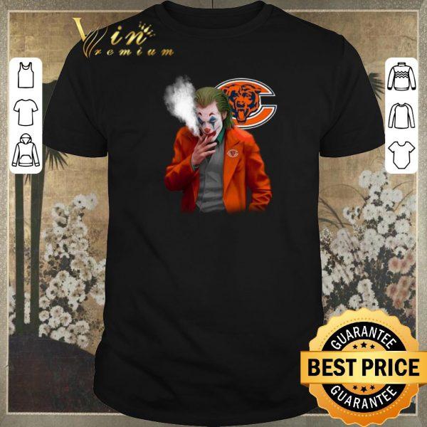 Hot Chicago Bears Joker 2019 smoking shirt sweater
