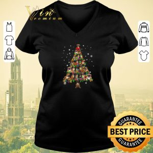 Hot Christmas Tree Boxer Xmas shirt