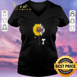 Hot Snoopy Woodstock you are my sunshine Pittsburgh Steelers shirt sweater