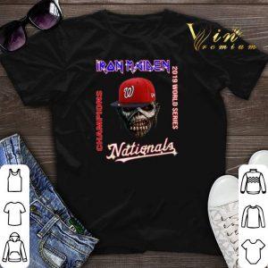 Iron Maiden Washington Nationals 2019 World Series Champions shirt sweater