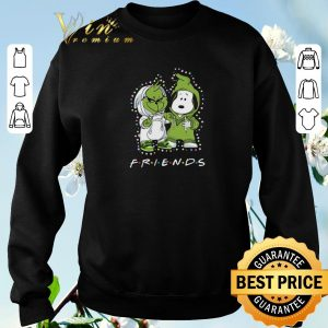 Nice Baby Grinch and Snoopy Friends shirt 2