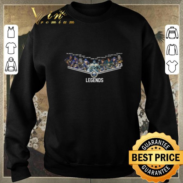 Nice Buffalo Sabres legends player name shirt sweater