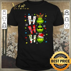 Nice Christmas Grinch ho ho ho shirt