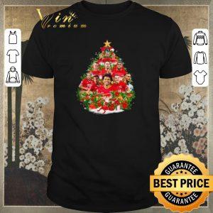 Nice Christmas tree AZ Alkmaar team players shirt
