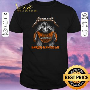 Nice Metallica Skull Motor Harley-Davidson Cycles shirt sweater