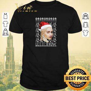 Official Christmas Khaleesi Daenerys Let It Snow shirt