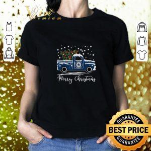 Official Dallas Cowboys truck Merry Christmas shirt