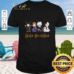 Official Halloween Maleficent Chillin' Like A Villain Disney shirt