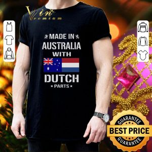 Official Made in Australia with Dutch parts shirt 2
