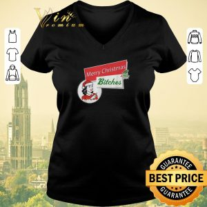 Official Merry Christmas bitches inappropriate adult shirt sweater