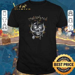 Official Motorhead 1975-2015 signatures shirt sweater 2019