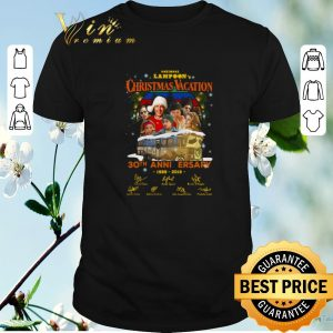 Official National Lampoon's Christmas Vacation 30th anniversary 1989 2019 shirt sweater
