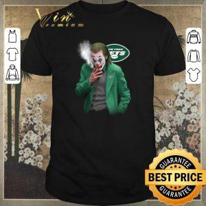 Official New York Jets Joker smoking Joaquin Phoenix shirt sweater