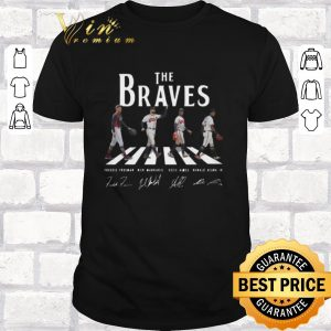Official Signatures Atlanta Braves The Braves Abbey Road shirt