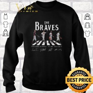 Official Signatures Atlanta Braves The Braves Abbey Road shirt 2