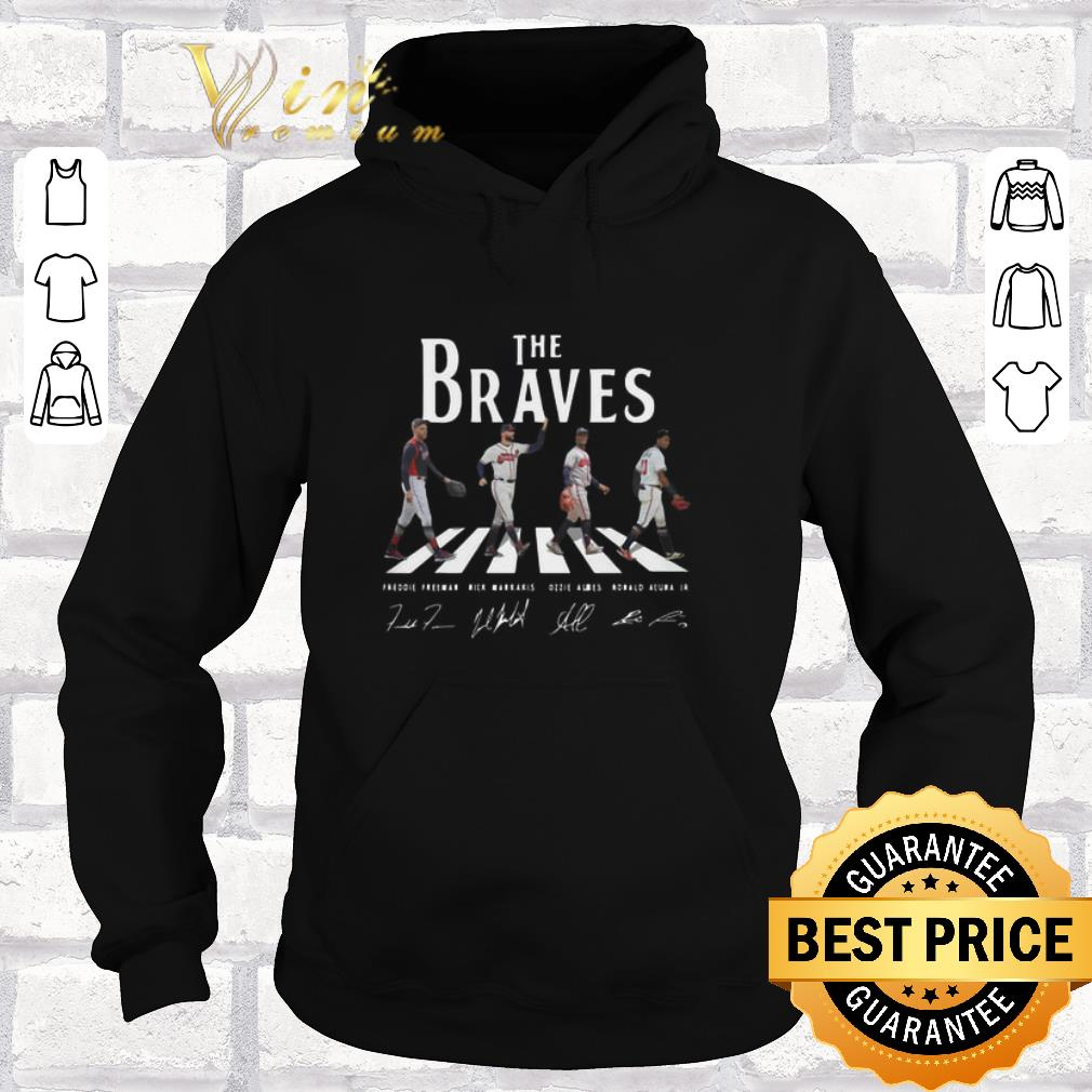 Official Signatures Atlanta Braves The Braves Abbey Road shirt 4 - Official Signatures Atlanta Braves The Braves Abbey Road shirt