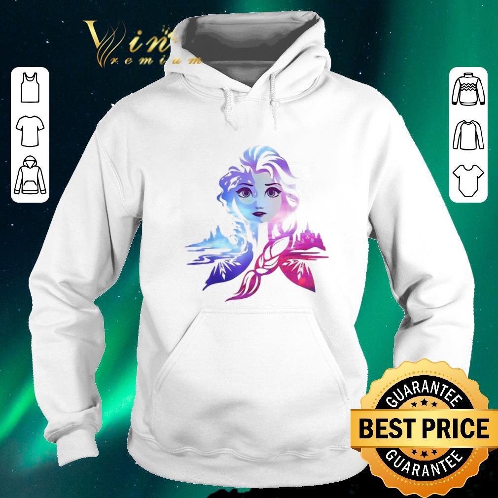 Original Frozen 2 Elsa Two Tone Gradient Portrait shirt sweater 4 - Original Frozen 2 Elsa Two Tone Gradient Portrait shirt sweater