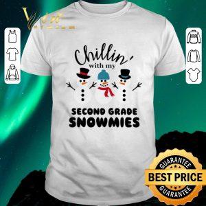 Original Snowman Chillin' with my second grade Snowmies shirt sweater