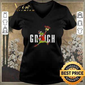 Premium Air Jordan Grinch Christmas shirt