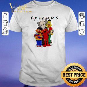 Premium Friends Kaws and Sesame Street shirt sweater