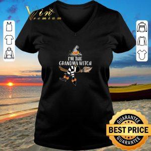 Premium I'm the grandma witch shirt sweater