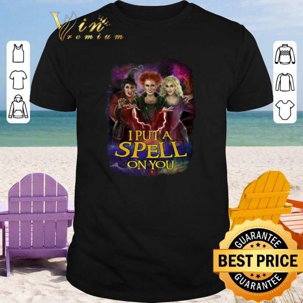 Premium I put a spell on you Hocus Pocus shirt 2020