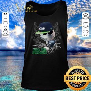 Premium Jack Skellington fear the Seattle Seahawks shirt sweater 2020