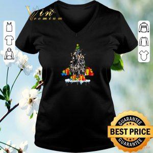 Premium Kiss Christmas Tree Gift shirt sweater