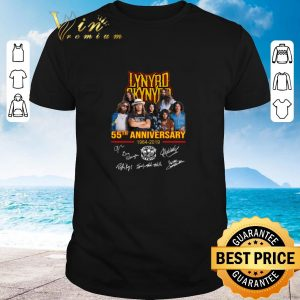Premium Lynyrd Skynyrd 55th anniversary 1964-2019 signatures shirt 2020
