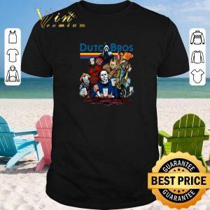 Pretty Dutch Bros Coffee Horror movie characters shirt sweater 2019