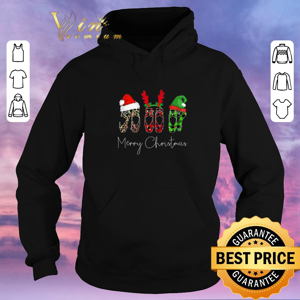 Pretty Merry Christmas Leopard High heels shirt 4 - Pretty Merry Christmas Leopard High heels shirt