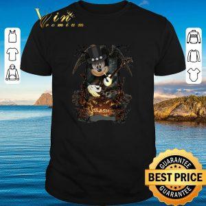 Pretty Mickey Mouse Smoking Slash Pumpkin Halloween shirt 2020
