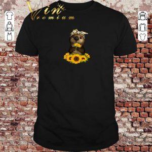 Pretty Otter sunflowers shirt sweater 2019
