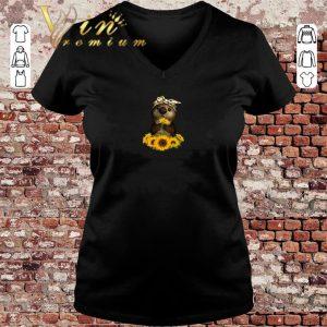 Pretty Otter sunflowers shirt sweater 2019 2