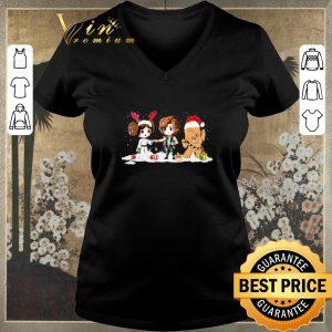 Pretty Star Wars chibi Christmas Princess Leia Hans Solo Chewbacca shirt sweater