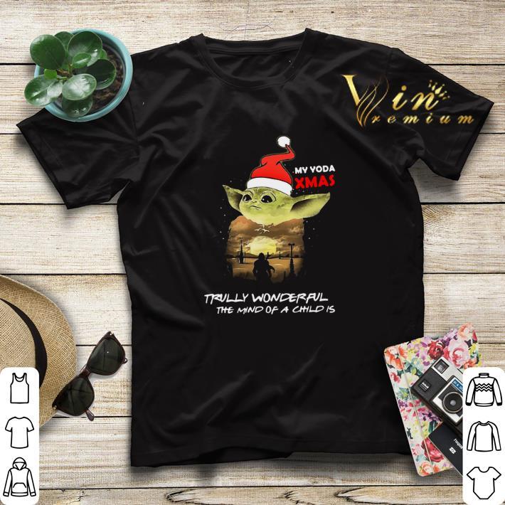 Santa Yoda My Yoda Xmas Trully Wonderful The Mind Of A Child Is shirt sweater 4 - Santa Yoda My Yoda Xmas Trully Wonderful The Mind Of A Child Is shirt sweater