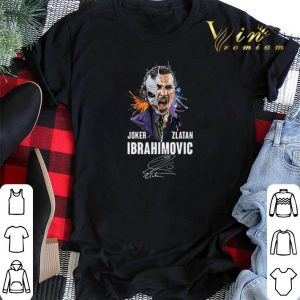 Signature Joker Zlatan Ibrahimovic shirt