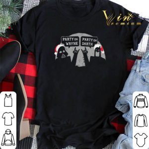 Star Wars party on Wayne party on Darth shirt sweater