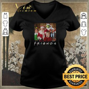 Top Christmas Friends Grinch Elf Santa Clark Griswold Kevin Characters shirt