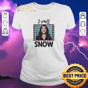 Top Christmas Gilmore Girls I smell snow shirt 1