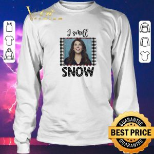 Top Christmas Gilmore Girls I smell snow shirt 2
